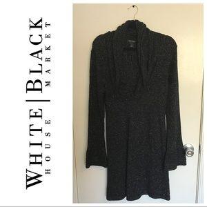 White House Black Market Glittered Sweater Dress